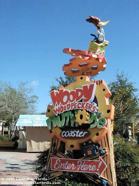 Woody Woodpecker's Nuthouse Coaster
